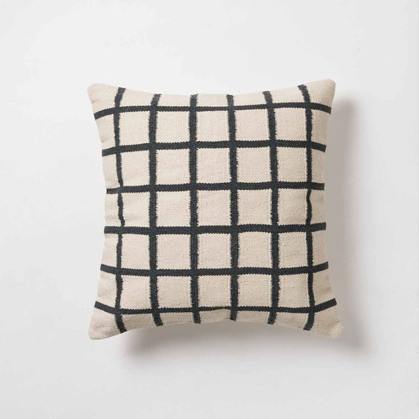 Net Hand Woven Cotton Floor Cushion Cover