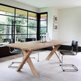 Siena Oak Dining Table