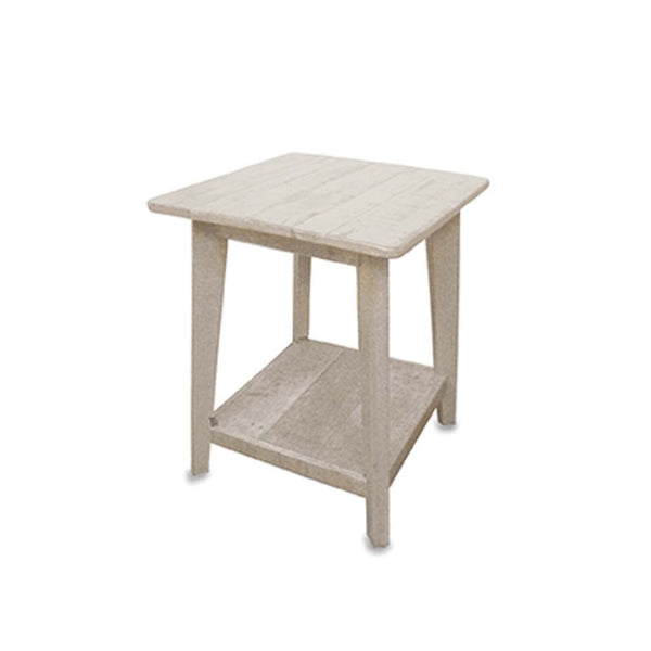 Whitewashed Side Table