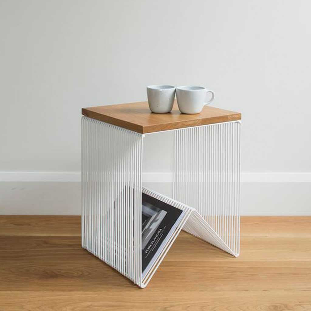 Willow Hardtop Side Table