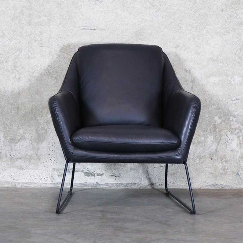 Workshop Leather Armchair