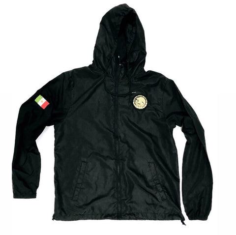 24/7 Veinticuatro/ Siete Mexico Classic Light Weight Track Jacket - Jet Black