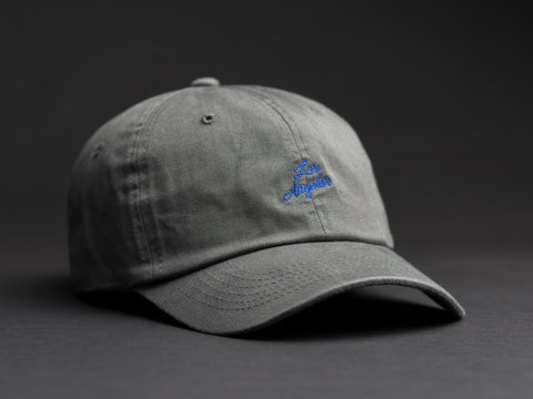 Los Angeles Hand Written Gray Dad Hat