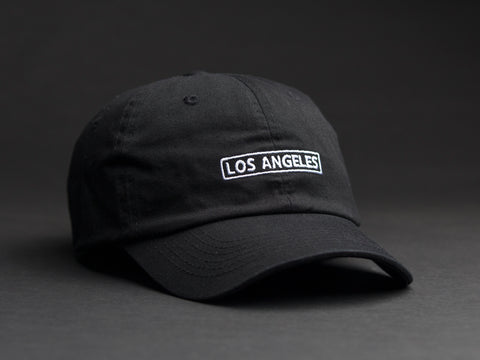 Los Angeles Box Black Dad Hat