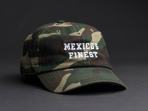 MEXICO'S FINEST  Camo Dad Hat