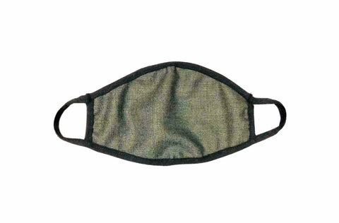 Cloth Face Mask Textured Olive Green