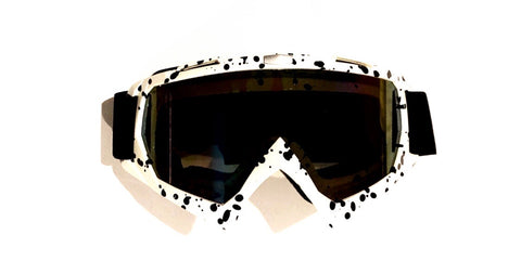Dirtbag RZR Goggles Paintball + Dirt Bike + Motocross + Windproof Dustproof Scratch Resistant Ski Goggles PU Resin