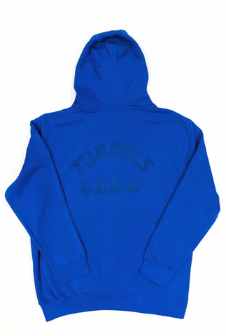 Tunnels Crew Premium Royal Blue Hoodie - Royal Blue Print