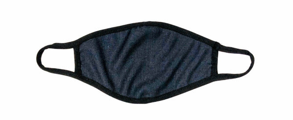 Cloth Face Mask Navy Blue