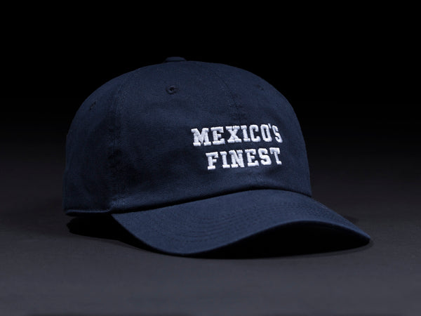 MEXICO'S FINEST  Navy Blue  Dad Hat