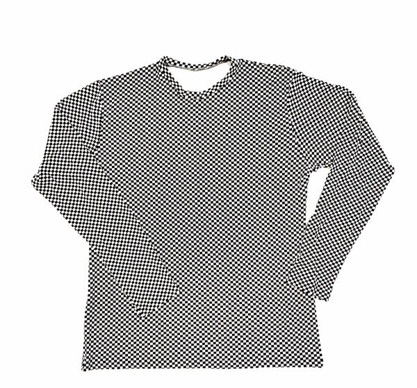 DIRTBAG LONG SLEEVE 100% Custom No Print CHECKERS