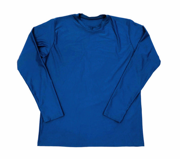 DIRTBAG LONG SLEEVE 100% Custom No Print ROYAL BLUE