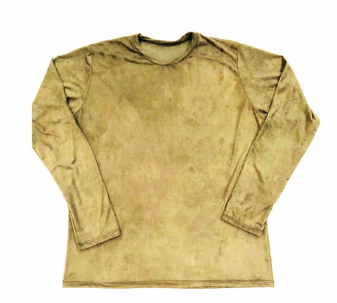 DIRTBAG LONG SLEEVE 100% Custom No Print SAND SUEDE
