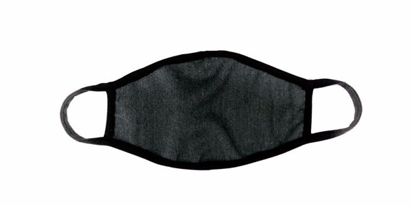 KIDS  Cloth  Face Mask Charcoal