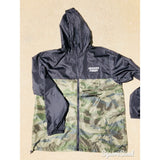 Mexico's Finest Classic Light Weight Track Jacket - Two Tone Black/Camo