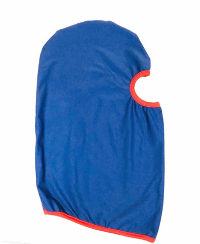 DIRTBAG Skimask Dustmask SandMask   - Royal Blue  - Red Accents
