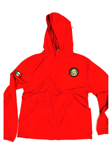24/7 Veinticuatro/ Siete Mexico Classic Light Weight Track Jacket - True Red