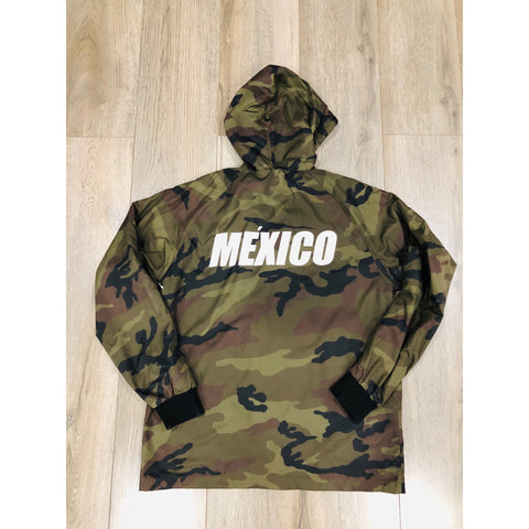 Mexico Classic Heavy Weight Track Jacket - WHITE PRINT