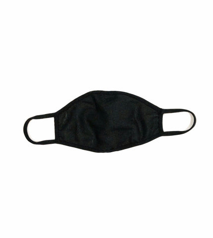 50 PACK Cloth Face Mask  Cotton Fiber Black