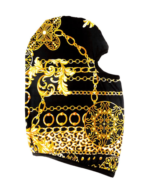 DIRTBAG Skimask Dustmask SandMask   -Roman Chains - Black Accents