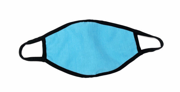 Cloth Face Mask Light Blue