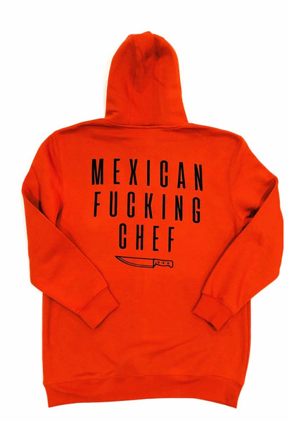 Mexican Fucking Chef Carrot Premium Hoodie - Carrot  / Black