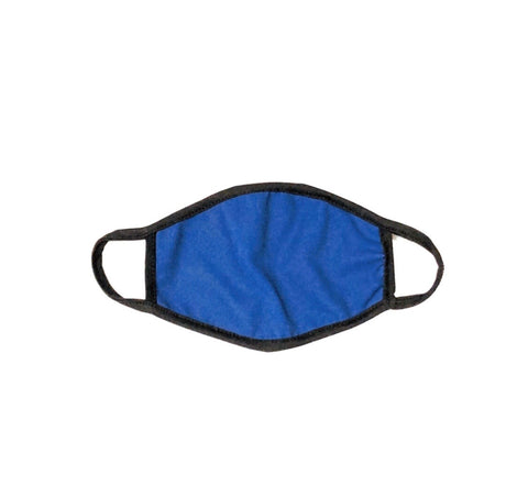 Cloth Face Mask Blue