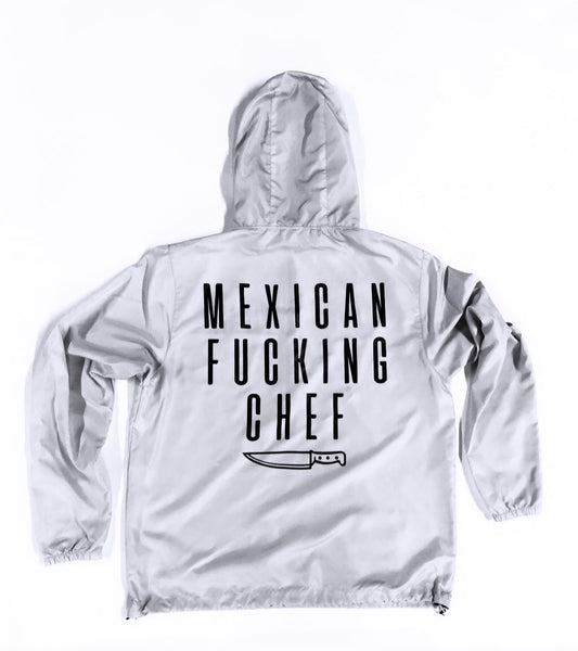 Mexican Fucking Chef Windbreaker - Bone / Offwhite /Black