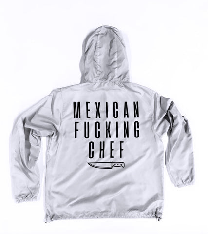 Mexican Fucking Chef Windbreaker - Bone / Offwhite /Black SHIPS NOV 29TH