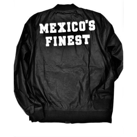 Mexico's Finest  Black / White Print and Frontal Patch