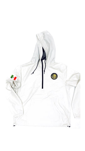 24/7 Veinticuatro/ Siete Mexico Classic Light Weight Track Jacket - Army Bone Color