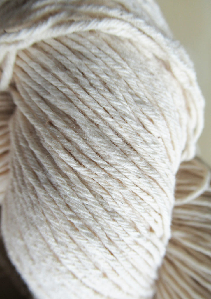 Bare Natural Cotton yarn 4 ply Bulk