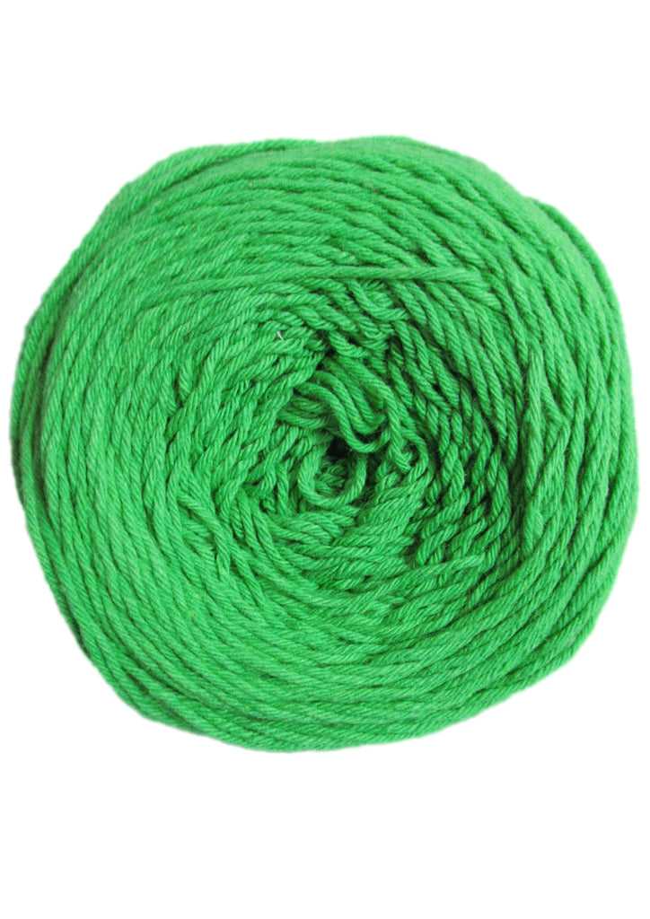 Cotton 4 ply in Emerald