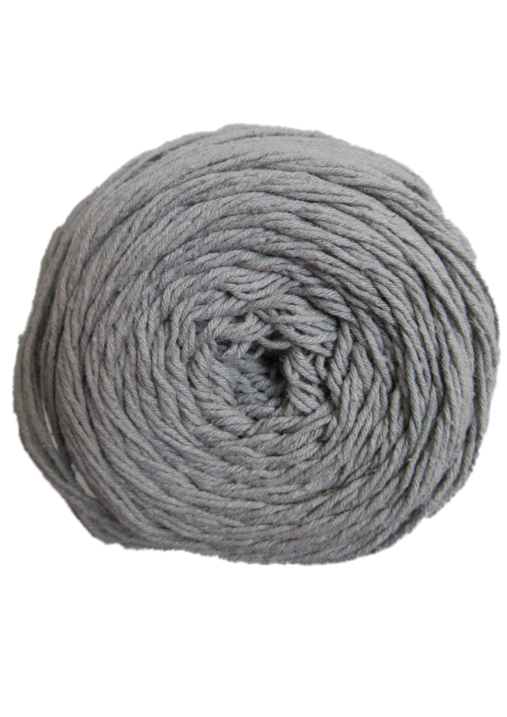 Cotton 4 ply in Grey