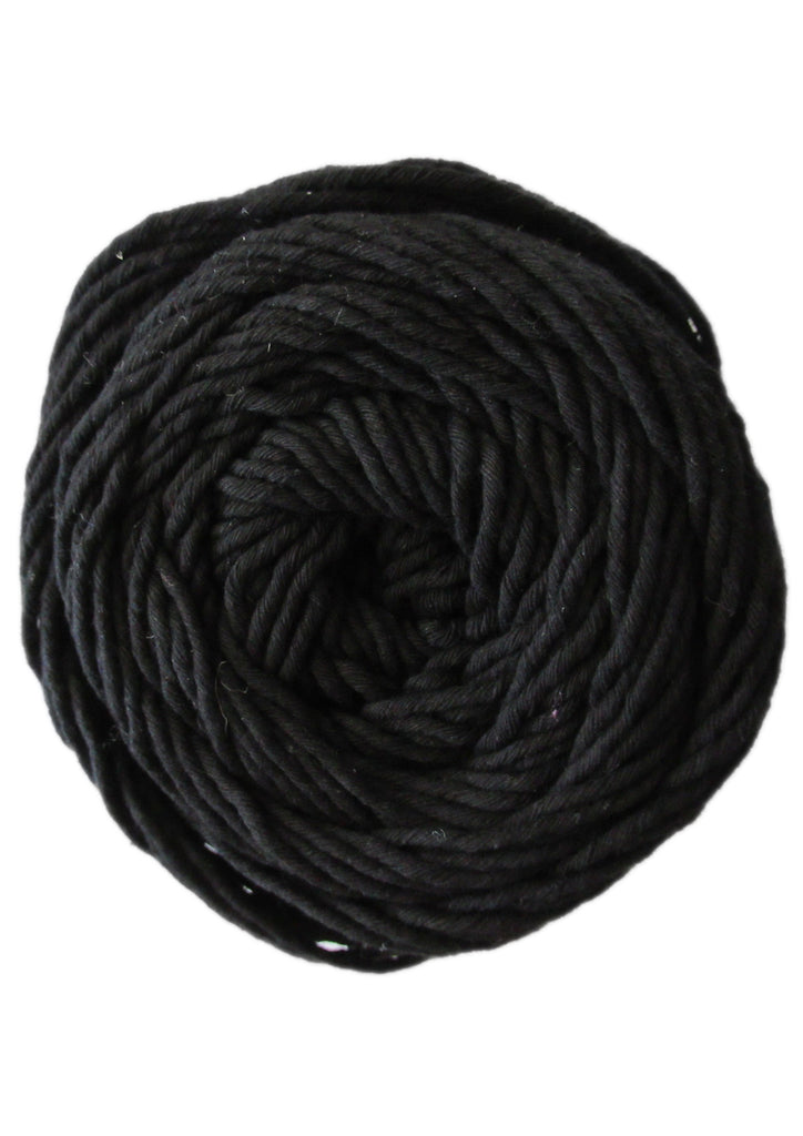 Cotton 100gr 8ply in Black
