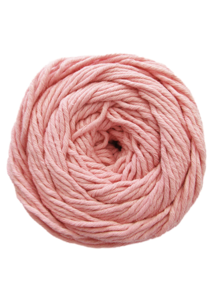 Cotton 100gr 8ply in Salmon/Warm Pink