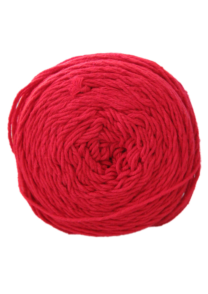 Cotton 4 ply in Red