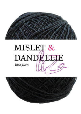 Liz Lace Yarn in Black