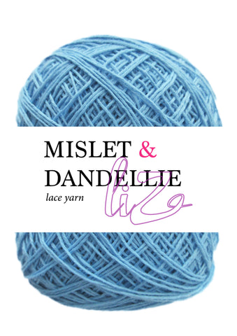 LIZ Lace Yarn in Blue Willow