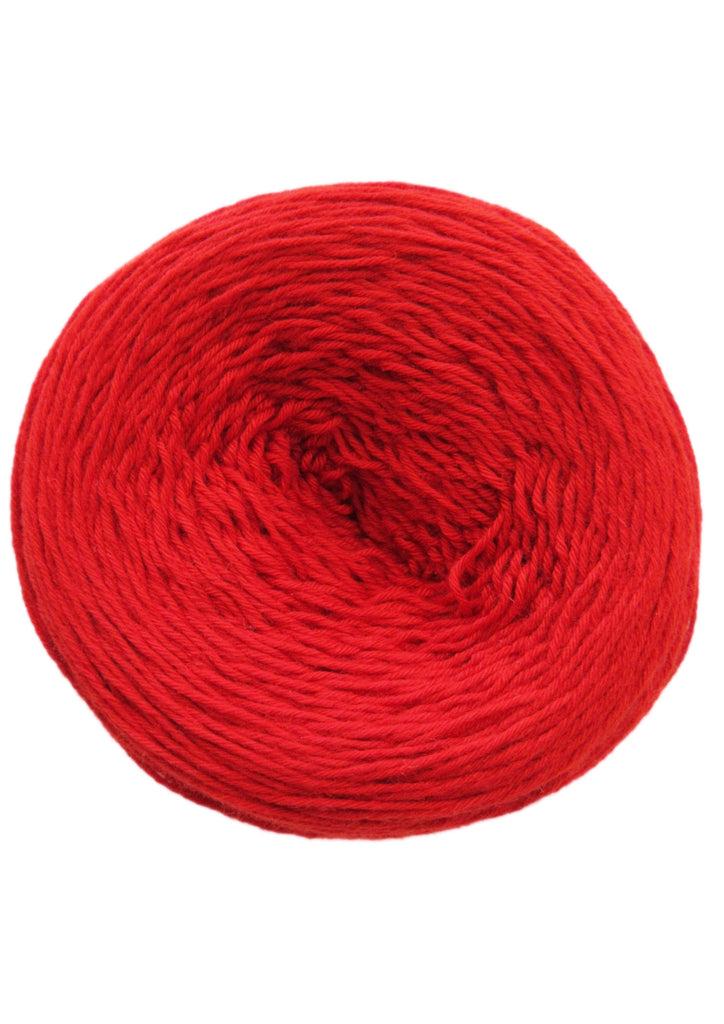 Liz Lace Yarn in Bright Red