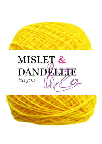 LIZ Lace Yarn in Canary
