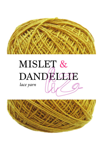 Liz Lace Yarn in Gold