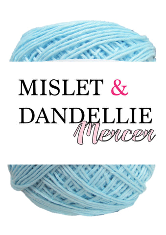 Merceri 100 gr 4ply in Baby Blue