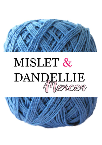 Merceri 100 gr 4ply in Blue Jeans