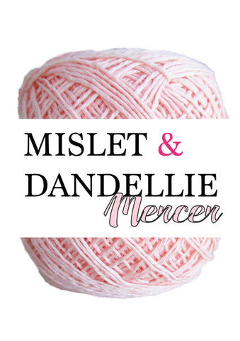 Merceri 100 gr 4ply in Blush Pink