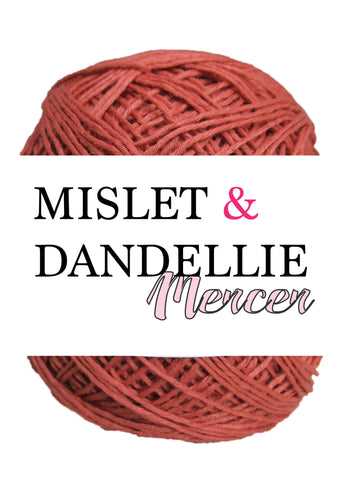 Merceri 100 gr 4ply in Brick Red