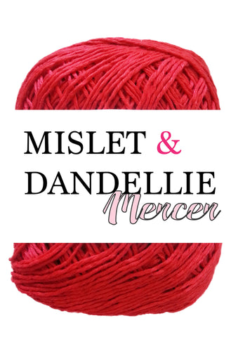 Merceri 100 gr 4ply in Bright Red