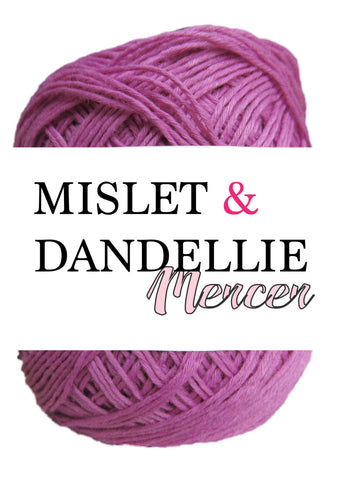 Merceri 100 gr 4ply in Cashmere Rose