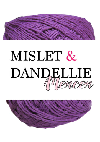 Merceri 100 gr 4ply in Eggplant
