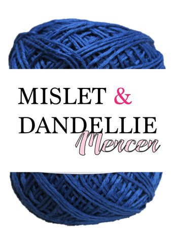 Merceri 100 gr 4ply in Electric Blue